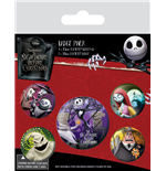 Nightmare Before Christmas (Characters) (Badge Pack)