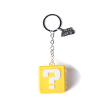 Nintendo - Question Mark Box Rubber 3D Yellow (Portachiavi)