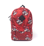 Nintendo - Super Mario Sublimation Red (Zaino)