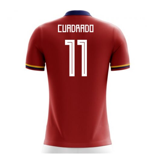 T-shirt Colombia calcio 2018-2019 Away