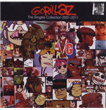 "Vinile Gorillaz - The Singles Collection 2001-2011 (8x7"")"