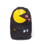 Pac-Man - Pac-Man & Blinky Placement Printed Backpack Black (Zaino)