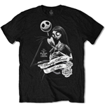 T-shirt Nightmare before Christmas da uomo - Design: Simply Meant To Be