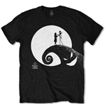 T-shirt Nightmare before Christmas da uomo - Design: Moon