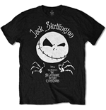 T-shirt Nightmare before Christmas da uomo - Design: Jack Head