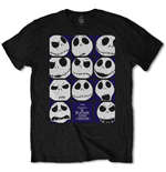 T-shirt Nightmare before Christmas da uomo - Design: Blockheads