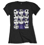 T-shirt Nightmare before Christmas da donna - Design: Blockheads