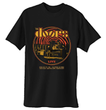 T-shirt The Doors da uomo - Design: 68 Retro Circle
