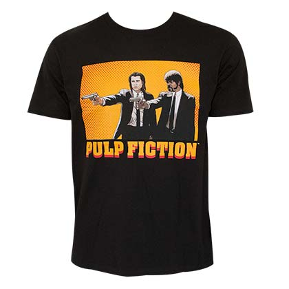 T-shirt Pulp fiction Guns