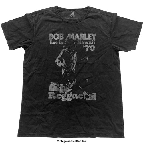 Bob Marley - Hawaii (vintage FINISH) (T-SHIRT Unisex )