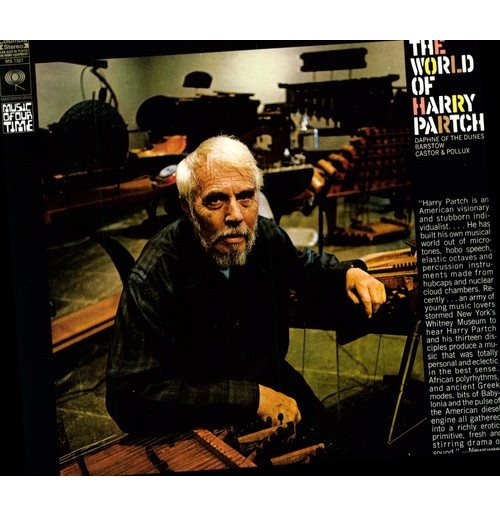 Vinile Harry Partch - World Of Harry Partch