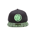 Marvel - Hulk Smash Fist Snapback Green (Cappellino)