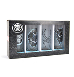 Marvel - Black Panther (Set 4 Bicchierini)