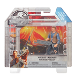 Mattel FMM07 - Jurassic World - Personaggio Base 10 Cm - Owen Lockwood Battle