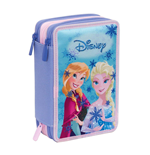 Frozen - Astuccio 3 Zip (Lollipop Pink)