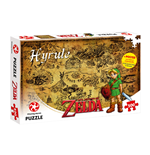 Puzzle 500 Pz - The Legend Of Zelda - Hyrule Field
