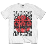 David Bowie - Live In Japan White (T-SHIRT Unisex )