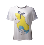 Disney - Alice In Wonderland Sublimation Mesh White (T-SHIRT Donna )