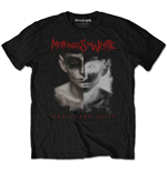 T-shirt Motionless in white da uomo - Design: Split Screen