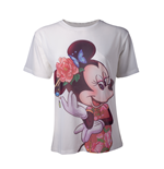 Disney - Minnie Mouse Sublimation Printed White (T-SHIRT Donna )