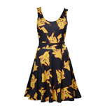 Pokemon - Black Dress With All Over Pikachu (vestito Donna )