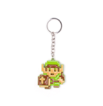 Legend Of Zelda (The) - 8-Bit Link Metal Multicolor (Portachiavi)
