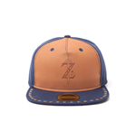 Legend Of Zelda (The) - Breath Of The Wild: Z Game Logo Snapback Brown (Cappellino)