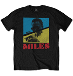T-shirt Miles Davis da uomo - Design: Throwback