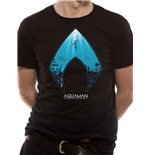 T-shirt Aquaman Movie - Design: Logo And Symbol