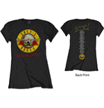 T-shirt Guns N' Roses da donna - Design: Not In This Lifetime Tour