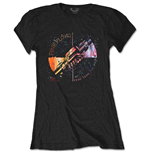 T-shirt Pink Floyd da donna - Design: Machine Greeting Orange