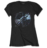 T-shirt Pink Floyd da donna - Design: Machine Greeting Blue