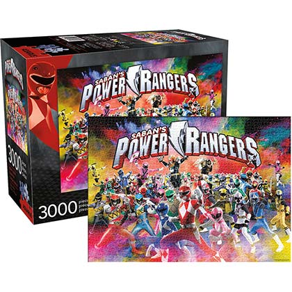 Puzzle Power Rangers
