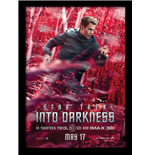 Star Trek - Into Darkness - Kirk Banner (Stampa In Cornice 30X40 Cm)