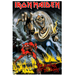Poster Iron Maiden - Design: Number Of The Beast