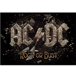 Poster AC/DC - Design: Rock Or Bust