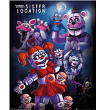Five Nights At Freddys - Sister Location Group (Poster Mini 40x50 Cm)