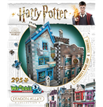 Wrebbit W3D-0508 - Harry Potter - Diagon Alley Ollivander'S Wand Shop + Scribbulus (Puzzle 3D 295 Pz)