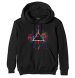 Maglione Pink Floyd unisex - Design: Dark Side of the Moon Pink Splatter