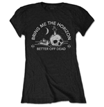 T-shirt Bring Me The Horizon da donna - Design: Happy Song