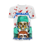 T-shirt Metallica CRASH COURSE IN BRAIN SURGERY