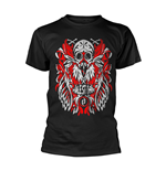T-shirt Halestorm FEATHER SKULL