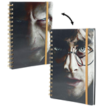 Harry Potter (Harry/Voldemort) 3D Lenticular A5 Notebook Cdu 10 (Quaderno Lenticolare 3D)