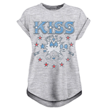 T-shirt Kiss - Design: Spirit Of 76