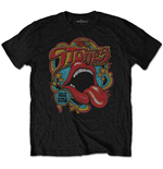 Rolling Stones (THE): Retro 70S Vibe (SOFT-HAND INKS) (T-SHIRT Unisex )