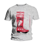 Rolling Stones (THE): Glastonbury Red Wellie (T-SHIRT Unisex )
