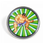 Street Fighter - E Honda (Pin Badge)