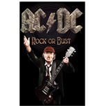 Poster AC/DC - Design: Rock Or Bust / Angus
