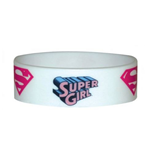 Dc Comics - Supergirl - Logo Repeat (Braccialetto Gomma)