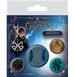 Fantastic Beasts - The Crimes Of Grindelwald (Pin Badge Pack)